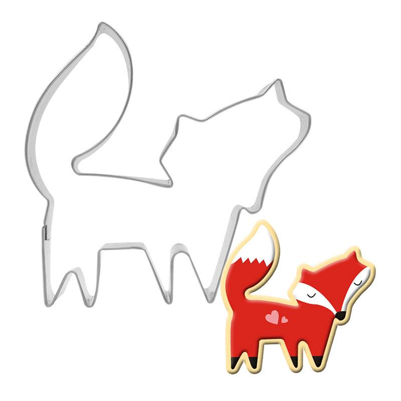 fox stainless steel cookie cutter Featured Image